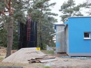 Stacja uzdatniania wody w Dychowie