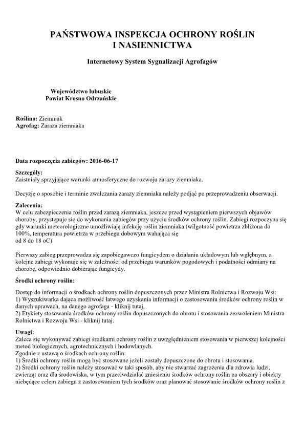Komunikat zaraza ziemniaka_1